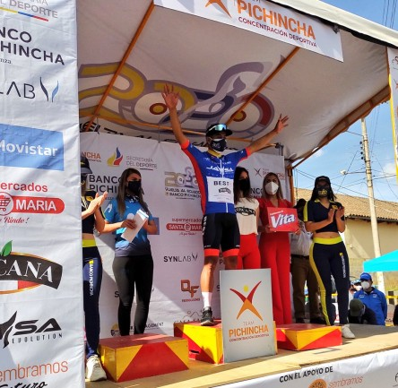 Byron Guamá repite triunfo al ganar la tercera etapa de la Vuelta al Ecuador