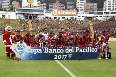 (3-1) El Nacional se paseó ante el Emelec 'B'