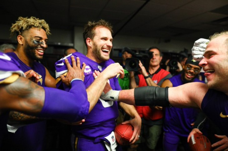 Vikings y Seahawks sorprenden de visitantes y jugarán contra 49ers y Packers (Resumen)