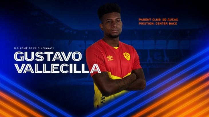 Gustavo Vallecilla oficializado por FC Cincinnati