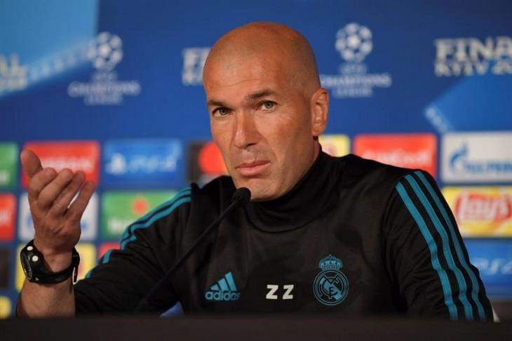 """Zidane: """"Pueden decir que somos favoritos, pero sabemos que no es así"""""""