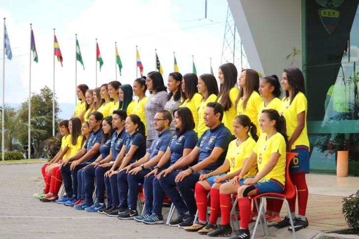 Ecuador en el Grupo A del Sudamericano Sub'17 femenino