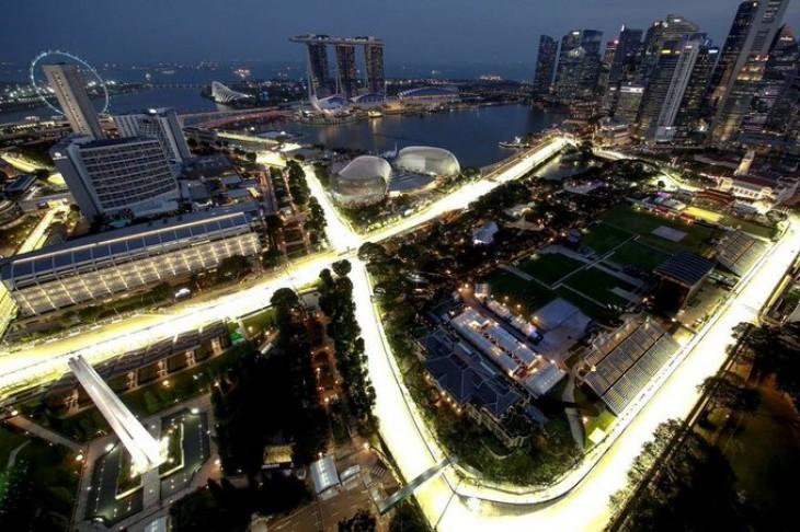 El GP de Singapur, pendiente del humo de los incendios en Indonesia