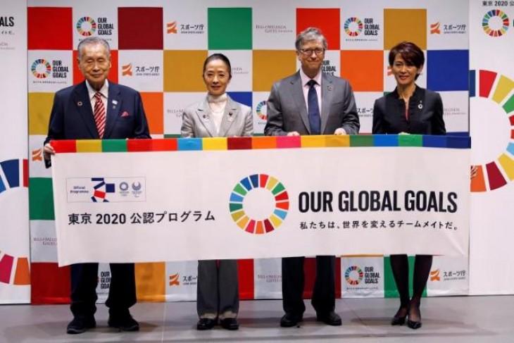 Bill Gates se alía con Tokio 2020 para lograr el desarrollo sostenible global
