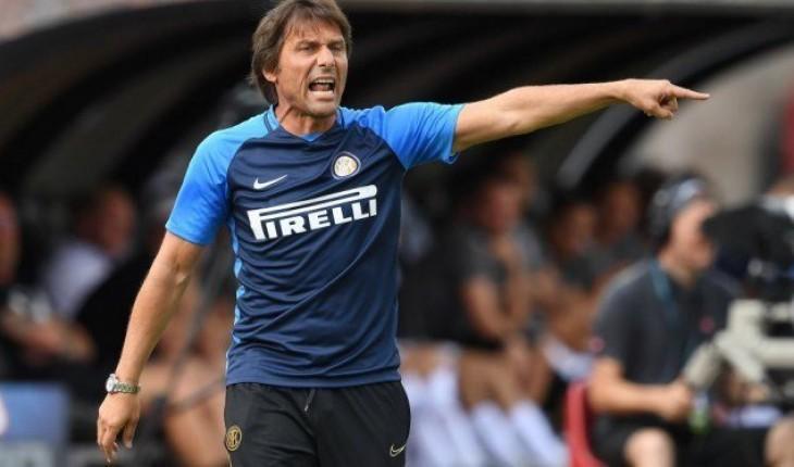 """Conte: """"No creo que el Barcelona esté contento por enfrentarse al Inter"""""""