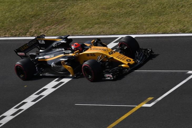 Robert Kubica reaparece al volante de un Fórmula Uno