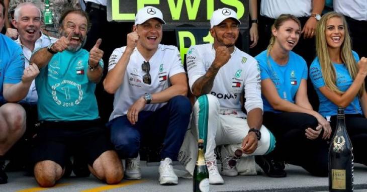 El Mundial de F1 cierra por vacaciones con Hamilton apuntando al quinto