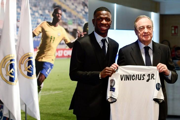 """Vinicius Junior: """"Enseñaré al entrenador que estoy listo para jugar"""""""
