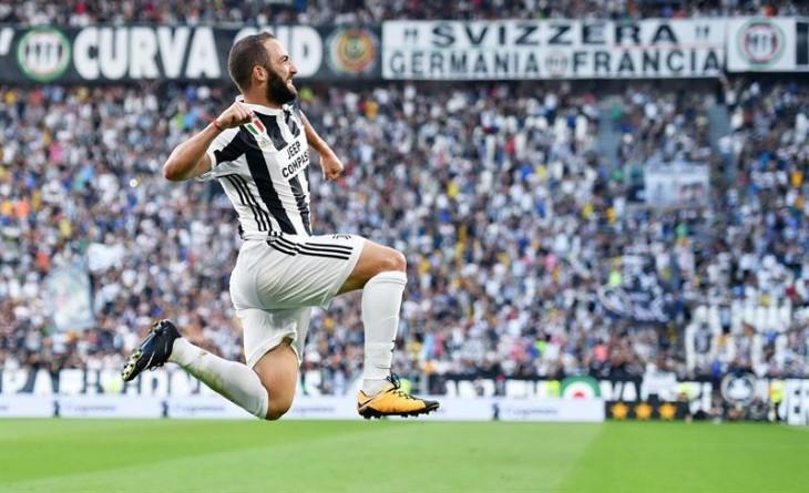 Juventus inicia defensa de su título en Italia con goleada