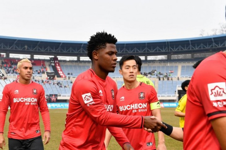 Marlon De Jesús fue titular en empate de visita del Bucheon