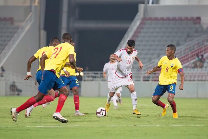 Un Ecuador sin pegada no pasa del 0-0 frente a Omán