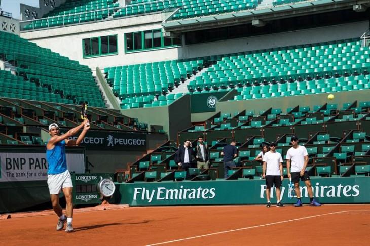 Se sorteó el cuadro principal de Roland Garros