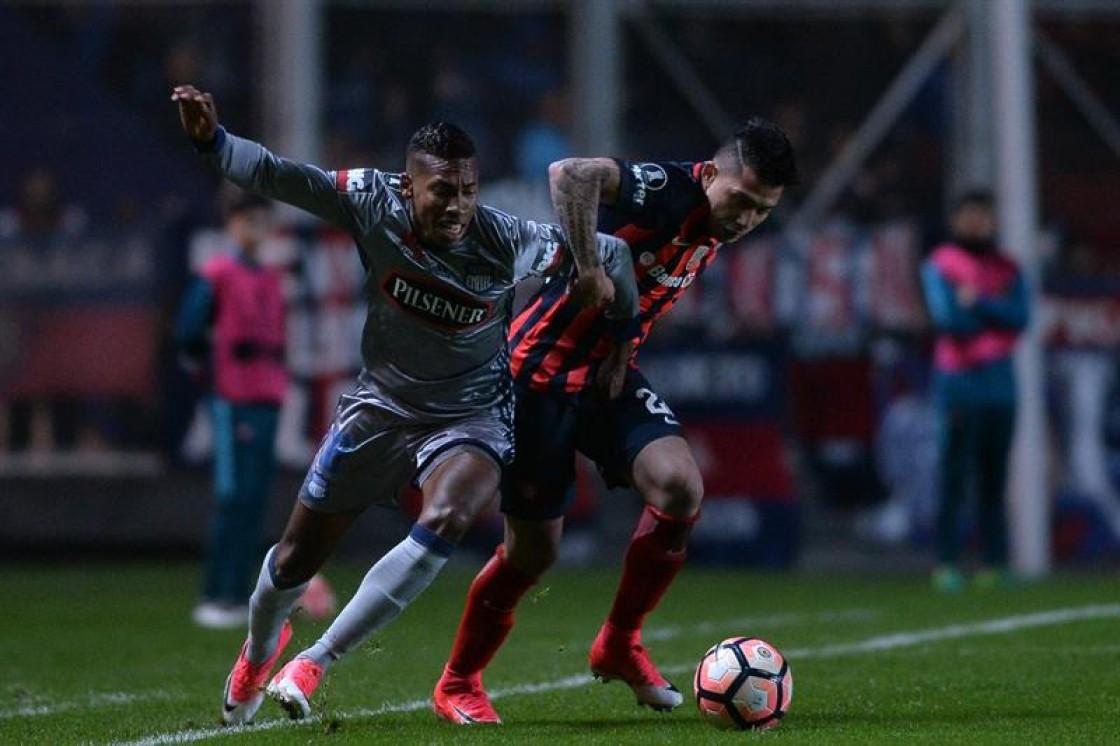 Emelec perdió la serie ante San Lorenzo y le dijo adiós a la Copa Libertadores