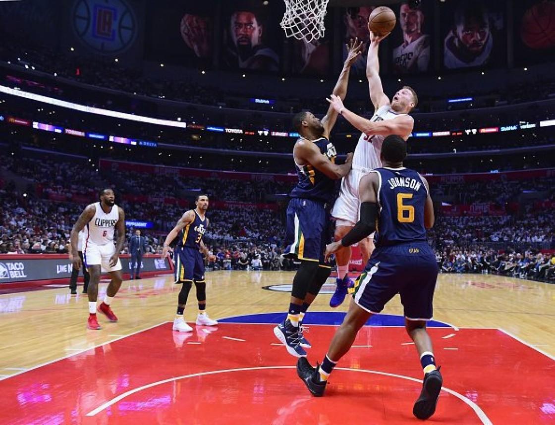El alero Blake Griffin logró 24 puntos y los Clippers vencieron 99-91 a los Jazz de Utah