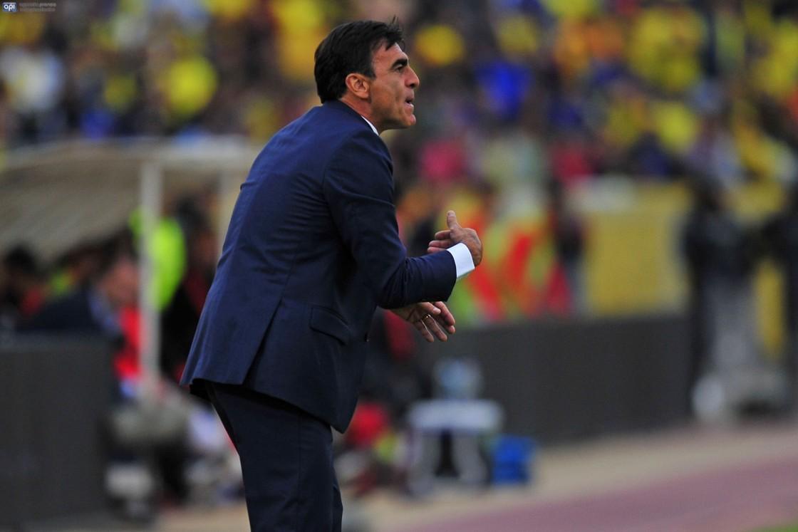 """Gustavo Quinteros dijo que todo está tranquilo en la Selección y que nadie """"han insinuado ni pedido una renuncia"""""""