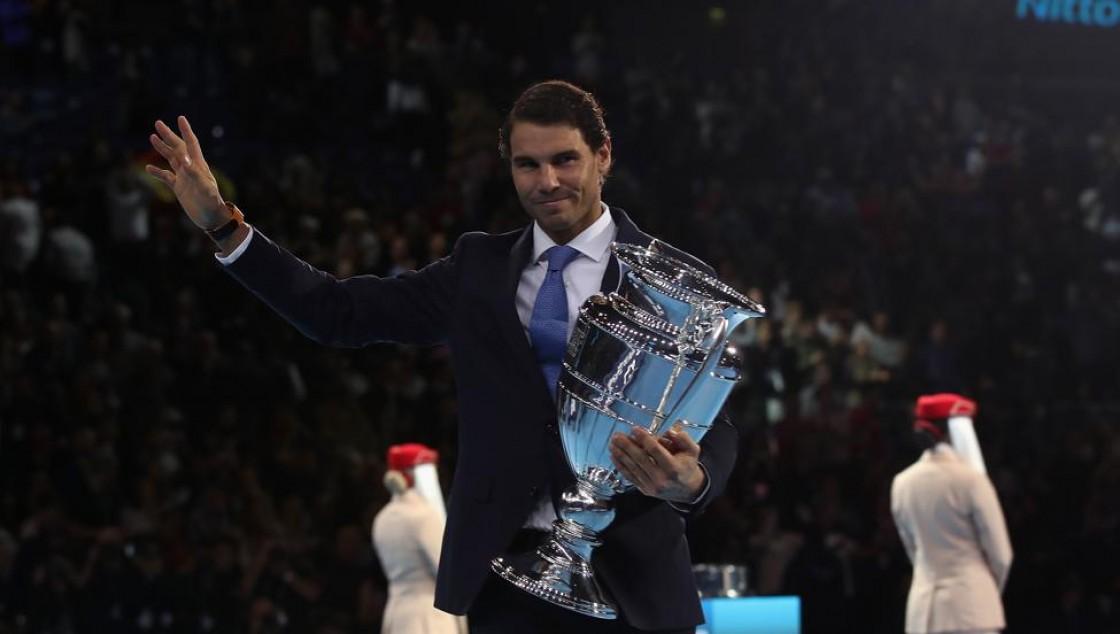 El español tiene una ventaja de 1640 puntos sobre Roger Federer, quien es segundo