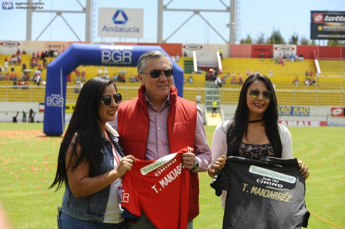 Manjarrez reconoció las complicaciones de El Nacional en el campeonato pero descartó problemas a la interna del club