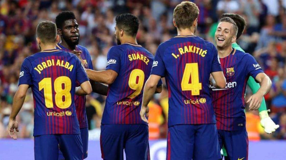 En la sesión, se ha entrenado con normalidad Andrés Iniesta, que tuvo que retirarse antes de hora en el último partido liguero ante la UD Las Palmas