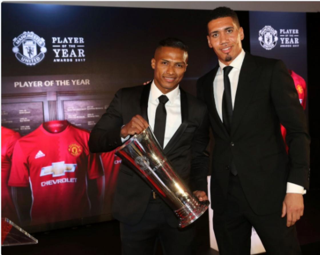 Valencia fue elegido por sus compañeros de Manchester United como el Mejor Jugador del Año
