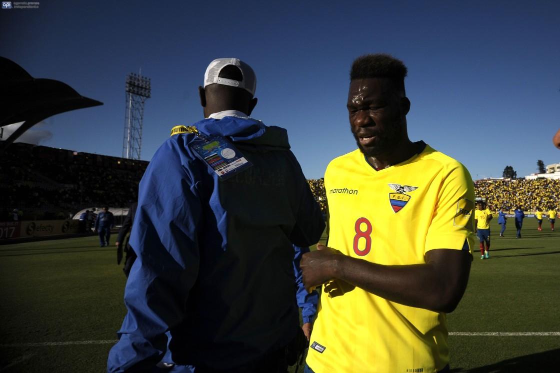 Felipe Caicedo fue crítico sobre el torneo local y recomendó tomar el ejemplo del fútbol internacional