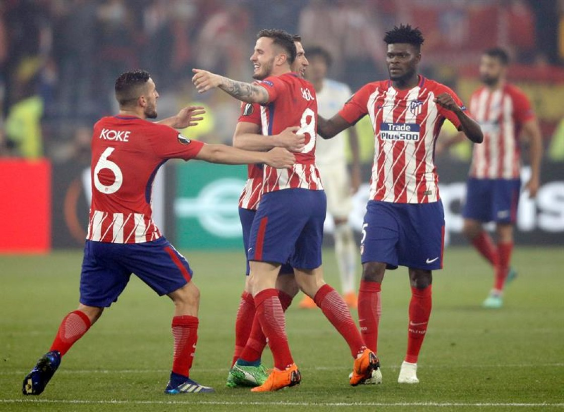 Un ejercicio práctico colectivo lanzaron al Atlético de Madrid a una nueva Liga Europa, el sexto título de la era Simeone, evidentemente superior al Marsella