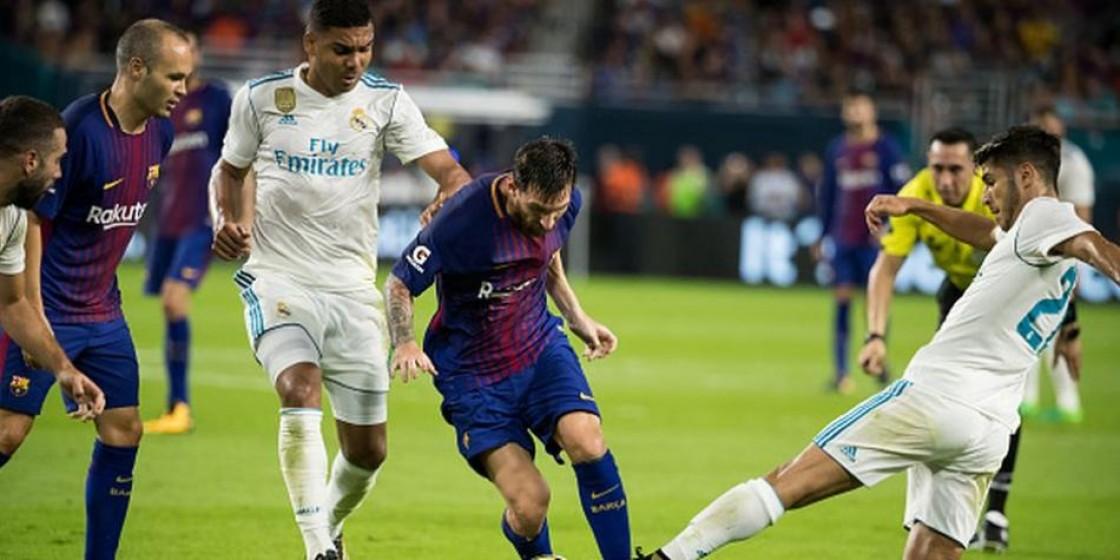 Real Madrid y Barcelona llegan mañana al Camp Nou a buscar el título