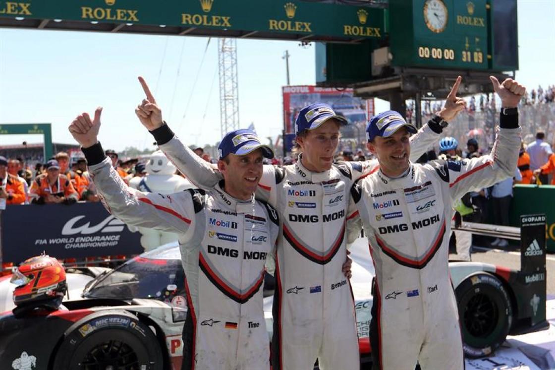 Hartley, Bamber y el Bernhard se tomaron el circuito francés en la 85 edición de esta carrera
