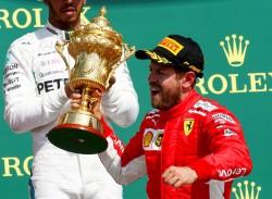 Vettel sale más líder de Silverstone