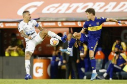 Boca y Santos dejaron la llave abierta