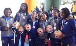 Venezuela gana cuatro oros, Perú uno y R. Dominicana otro en lucha femenina