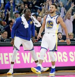 Warriors marchan imparables; Timberwolves humillan a Cavaliers (Resumen)