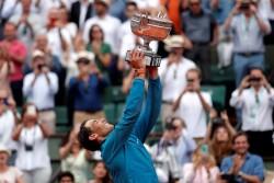 Nadal levantó el trofeo por undécima vez en Roland Garros