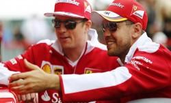 """Vettel: """"Me gustaría continuar con Kimi (Raikkonen), pero no está en mi mano"""""""