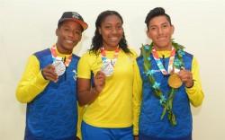 Emotivo recibimiento a deportistas de Ecuador tras Olímpicos de la Juventud