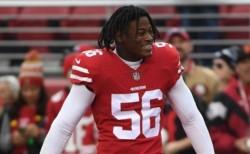 Detienen a Reuben Foster, 49ers, por violencia doméstica y posesión de arma