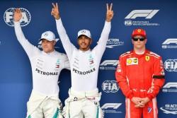 Hamilton firma la 'pole' bajo la lluvia y Sainz saldrá quinto en Hungría