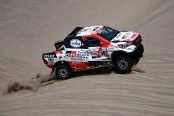 Al-Attiyah se acerca aún más a su tercer Dakar en nueva exhibición de Loeb