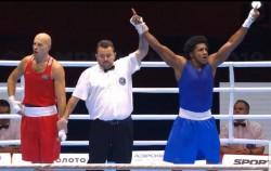 Julio Castillo, finalista en el Mundial de Boxeo
