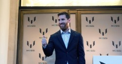 Leo Messi lanza una colección de ropa inspirada en su vida