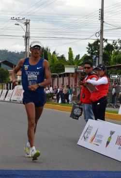Ecuador copa el podio en 20 kilómetros con Chocho, Arteaga y Pintado