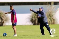 """Maradona: """"Estamos dando todo lo que tenemos"""""""