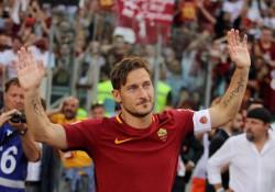 El Roma homenajeará a Totti en el partido contra el Madrid de la Champions
