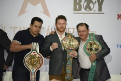 'Canelo' Álvarez, ejemplo de desarrollo de México, dice presidente Peña Nieto