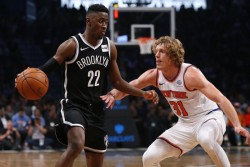 (107-105) LeVert decide triunfo de Nets en duelo neoyorquino con Knicks