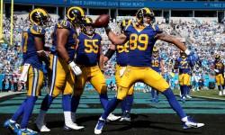 (27-30) Goff y los Rams arruinan el regreso de Newton con los Panthers