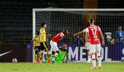 (1-0) (2-1) Santa Fe hace lo justo y elimina a Fuerza Amarilla
