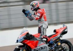 Cuarta victoria de Andrea Dovizioso en carrera muy accidentada