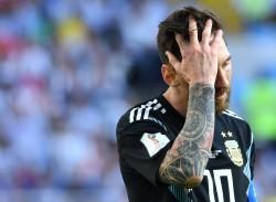 """Sampaoli, sobre Messi: """"No puede ser que sea el responsable de un fracaso"""""""