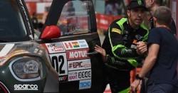 Nani Roma listo para el Rally de Marruecos