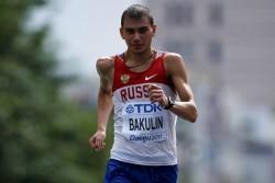 Marchador ruso Bakulin suspendido por ocho años por dopaje